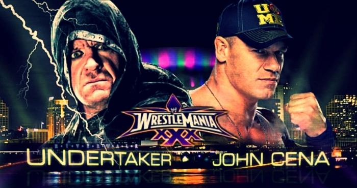 WWE: John Cena vs. The Undertaker Destined for WrestleManiaXXX?
